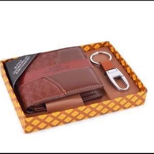 Other - 🔥Sale!Men's Leather Wallet and Key Chain